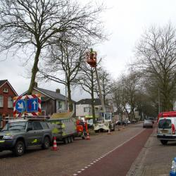 kandelaberen in Hollandscheveld